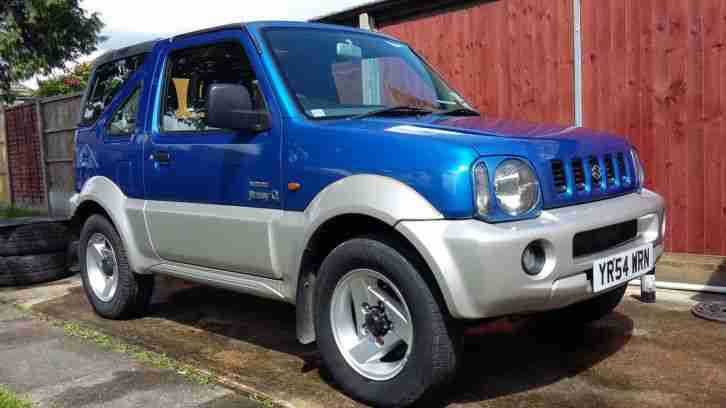 suzuki 2004 jimny 02 edition in blue soft top with rare. Black Bedroom Furniture Sets. Home Design Ideas
