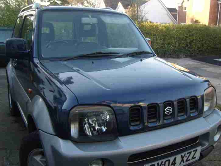 2004 SUZUKI JIMNY 1.3 MODE 3DR VERY LOW MILEAGE EXCEPTIONAL CONDITION.