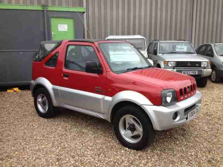 suzuki 2004 jimny jeep 02 convertible 38 000 miles only car for sale. Black Bedroom Furniture Sets. Home Design Ideas