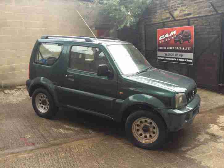 suzuki 2004 jimny jlx green 1 3 manual petrol manual spares or repair. Black Bedroom Furniture Sets. Home Design Ideas