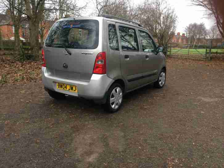 2004 SUZUKI WAGON R+ GL SILVER, 1 OWNER, LOW MILES 68K, FULL HISTORY, LONG MOT