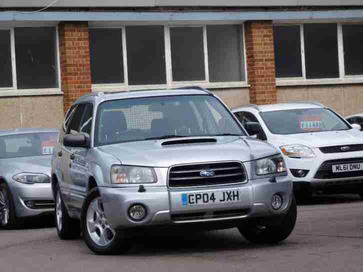 2004 Forester 2.0 XT 5dr