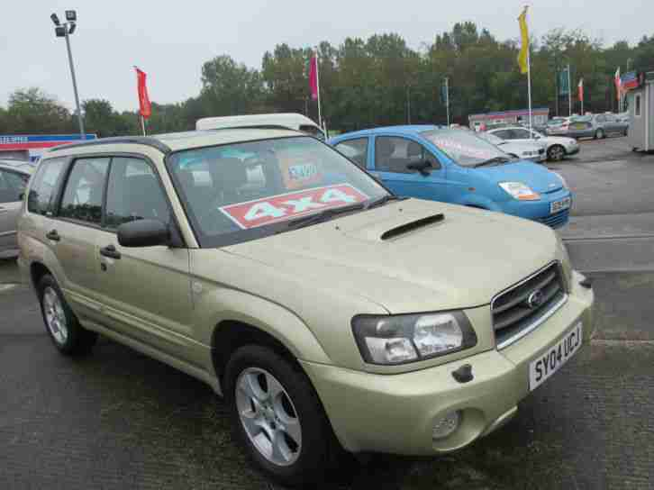 Subaru 2004 forester 2 0 xt turbo car for sale for Subaru forester paint job cost