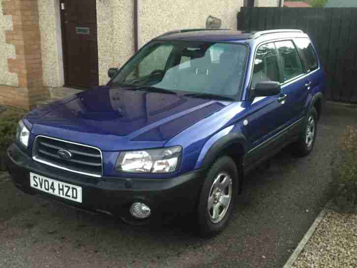 2004 Forester 2.0X