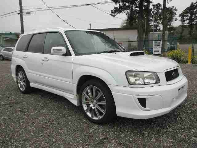subaru 2004 forester 2 5 sti fresh import white due in sept 2015 car for sale. Black Bedroom Furniture Sets. Home Design Ideas