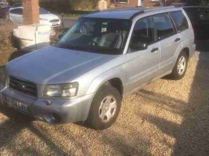 2004 Subaru Forester with LPG