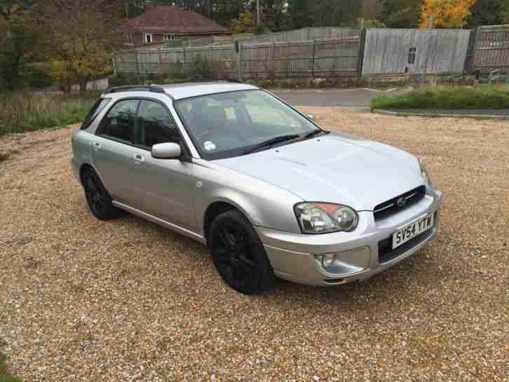 2004 Impreza 2.0 GX 4WD AWD estate S