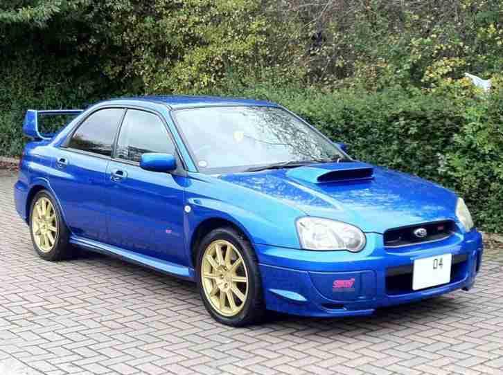 Subaru 2004 Impreza 2.0 WRX STI WIDETRACK DCCD TWINSCROLL ...