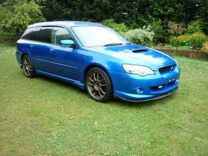 Subaru 2004 Legacy W R Ltd Spec B Twinscroll Turbo Car