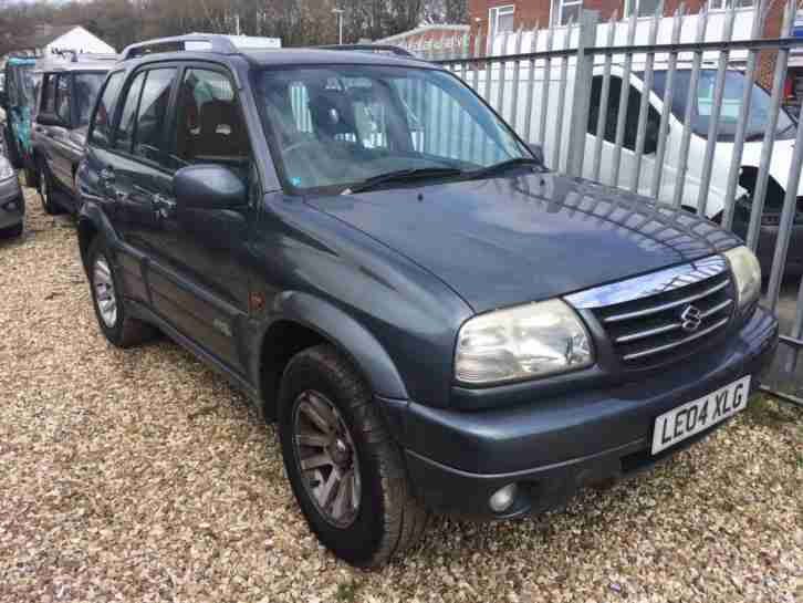 2004 Suzuki Grand Vitara 2.5 V6 X EC COMPLETE WITH M.O.T HPI CLEAR