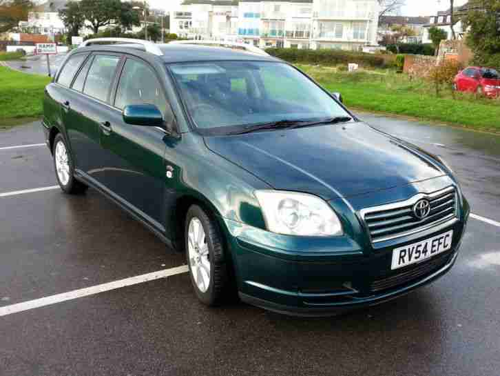 2004 AVENSIS T3 S D 4D METALLIC GREEN