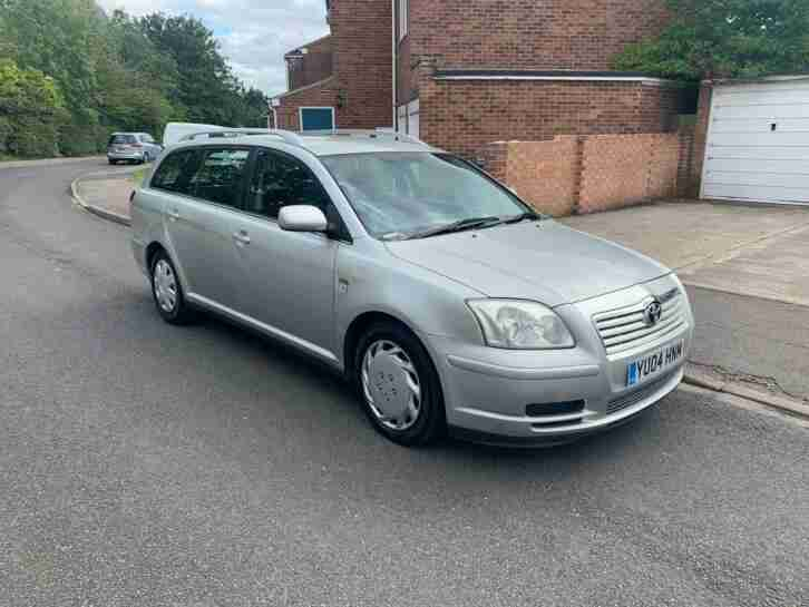 2004 Avensis Estate, Diesel, long MOT,