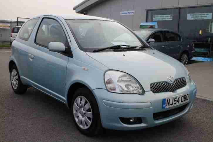 2004 Yaris 1.0 VVT i Blue 3dr