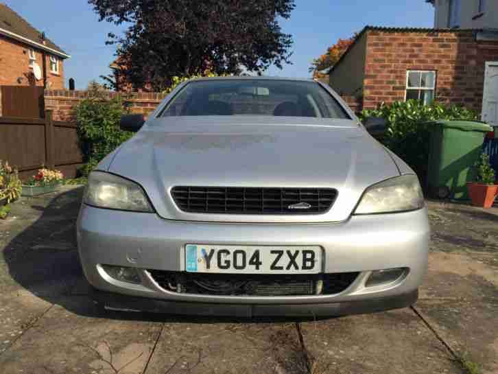 2004 vauxhall astra coupe 16v bertone silver car for sale Vauxhall Astra Trunk Space Vauxhall Vectra