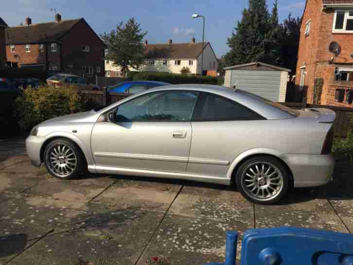 2004 vauxhall astra coupe 16v bertone silver car for sale. Black Bedroom Furniture Sets. Home Design Ideas