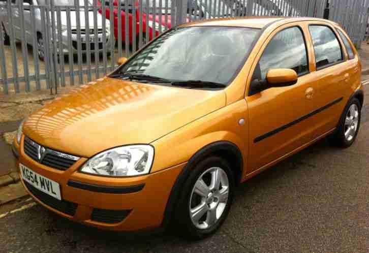 2004 Vauxhall Corsa 1 2 Energy 16v 5 Door Gold Very Low