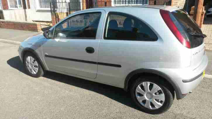 2004 VAUXHALL CORSA LIFE TWINPORT SILVER