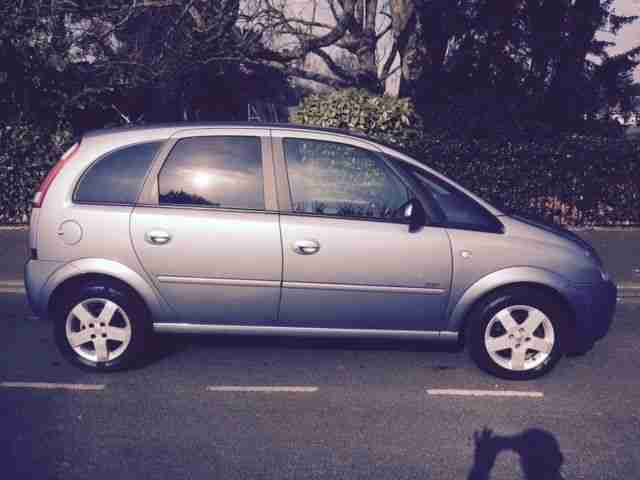 2004 VAUXHALL MERIVA DESIGN A/C 1.6 SILVER F/S/H CAMBELT CHANGED 72K