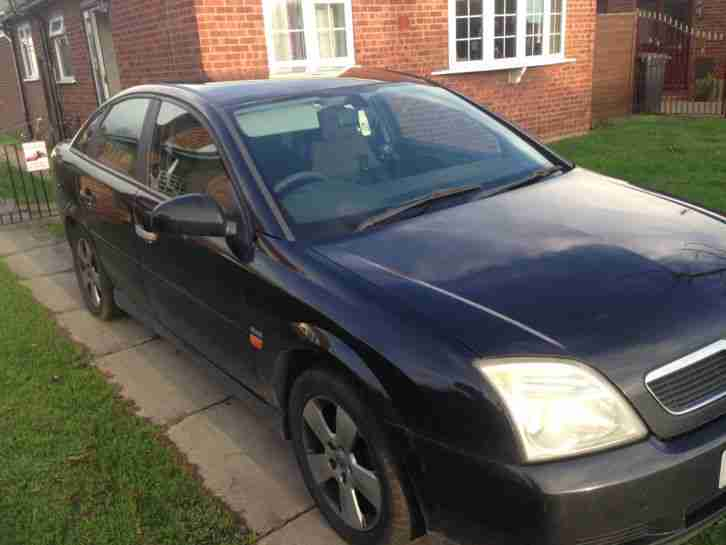 2004 VAUXHALL VECTRA CLUB 16V BLACK