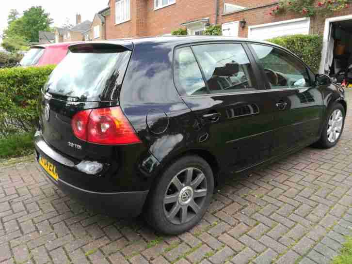 2004 GOLF GT TDI BLACK