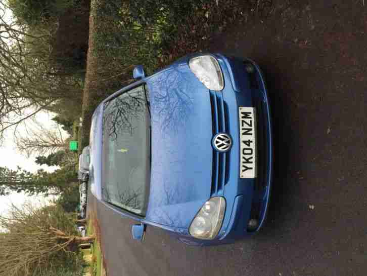 2004 VOLKSWAGEN GOLF GT TDI BLUE