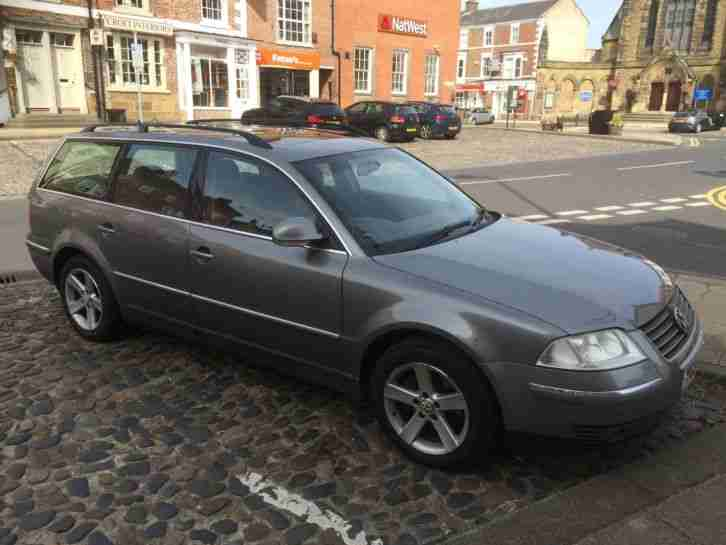 volkswagen 2004 passat highline tdi 130 grey fsh car for sale. Black Bedroom Furniture Sets. Home Design Ideas