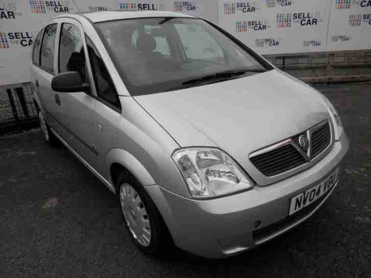 Vauxhall Meriva. Opel car from United Kingdom