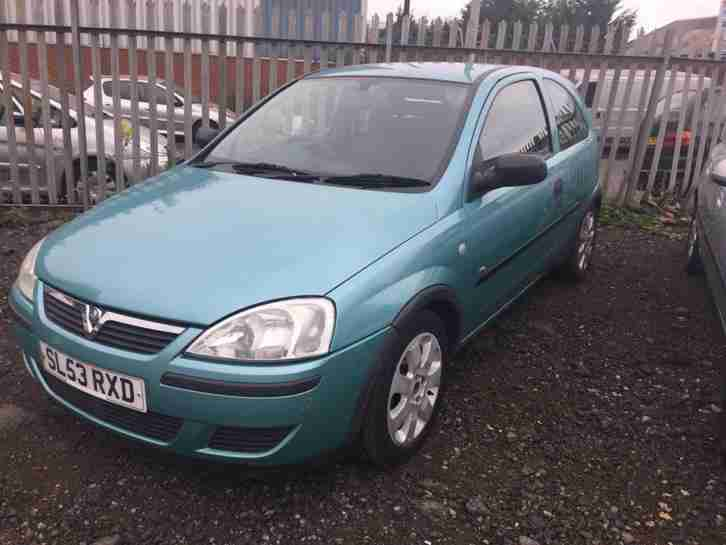 2004 Vauxhall Opel Corsa 1.0 Petrol 1 Owner From New