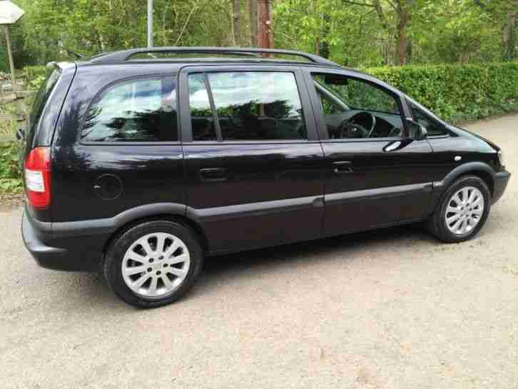 vauxhall 2004 zafira 1 8 i 16v elegance 5dr car for sale. Black Bedroom Furniture Sets. Home Design Ideas