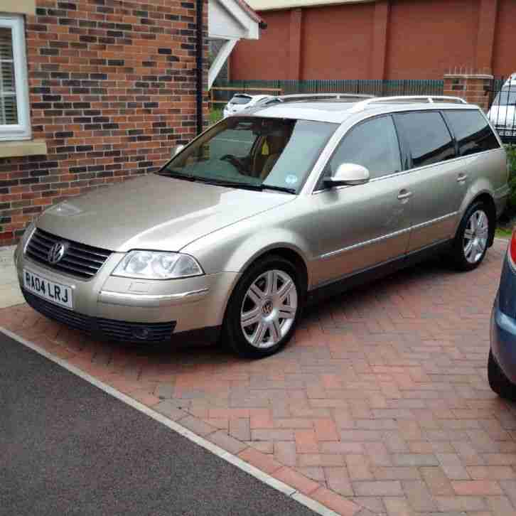 volkswagen 2004 passat 2 5 tdi v6 sat nav new mot no reserve car for sale. Black Bedroom Furniture Sets. Home Design Ideas