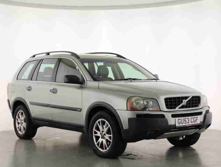 volvo 2004 xc90 2 9 t6 se 5dr geartronic petrol green automatic car for sale. Black Bedroom Furniture Sets. Home Design Ideas