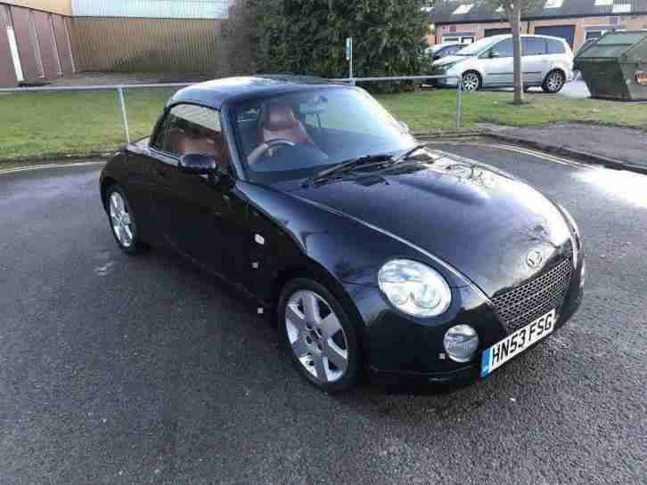 Daihatsu Copen convertible 12 months mot 3 months parts and labour warra