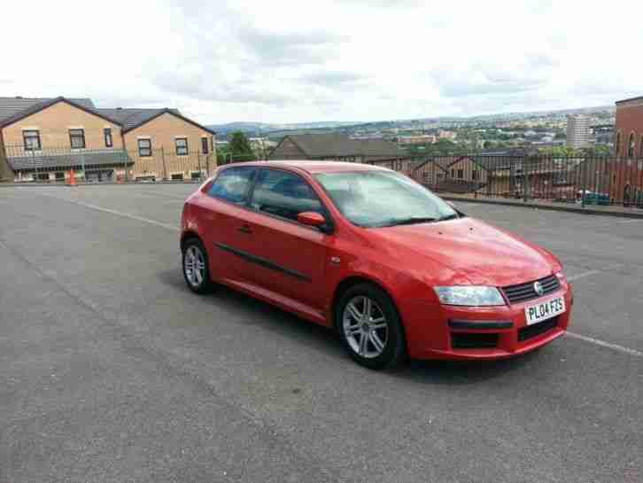 Fiat Stilo. Fiat car from United Kingdom
