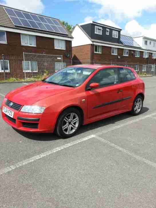 2004 fiat stilo 1.6 16v active sports.52k,f/s/h,3 owners