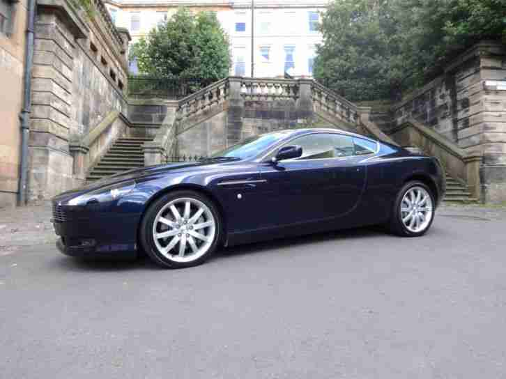 Aston Martin 2005 05 Db9 5 9 Seq Coupe Midnight Blue Car For Sale