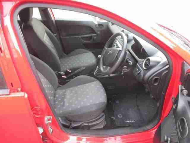 2005 05 FORD FIESTA 1.2 FIREFLY ONLY 42,000 MILES ROSSO RED CLOTH TRIM NIC