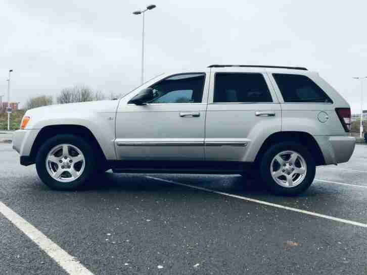 2005 (05) JEEP GRAND CHEROKEE 3.0 V6 CRD LIMITED 5DR AUTOMATIC