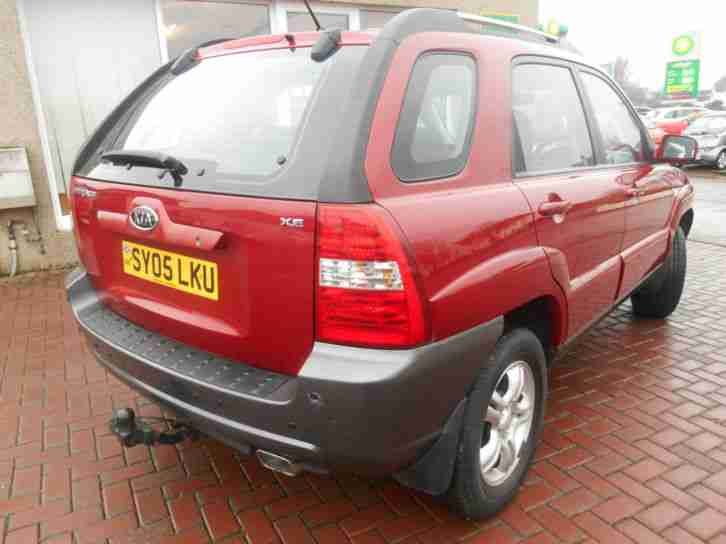 2005 05 Kia Sportage 2.0 XE - FSH - LOW MILEAGE - 2 OWNERS - HALF LEATHER - 48K