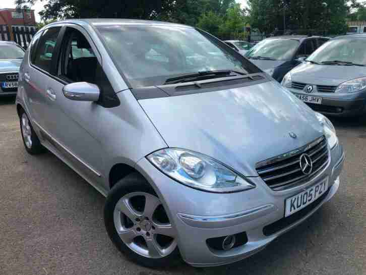 2005 05 Mercedes Benz A150 1.5 Avantgarde SE 1 OWNER LONG MOT 2 KEYS HALFLEATHER