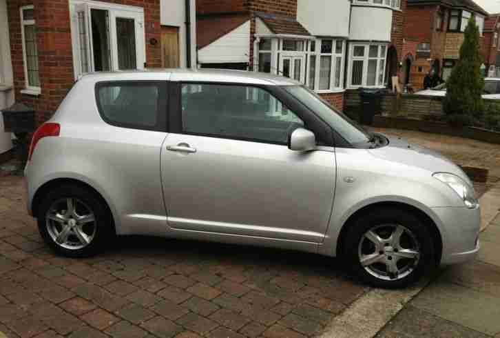 2005-05 PLATE SUZUKI SWIFT 1.3 SILVER MOT DECEMBER 2015.