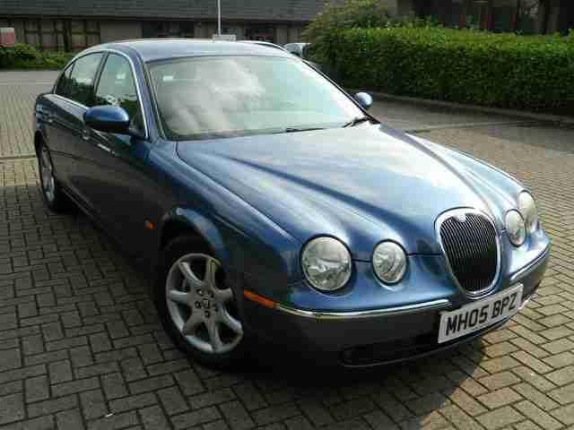 jaguar 2005 05 reg s type 2 5 v6 auto se car for sale. Black Bedroom Furniture Sets. Home Design Ideas