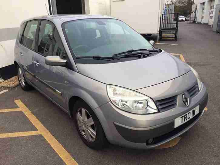 2005/05 RENAULT SCENIC 1.9dCi 120 DYNAMIQUE~ONLY 57400 MLS~ONE OWNER~TOPAZ GREY~