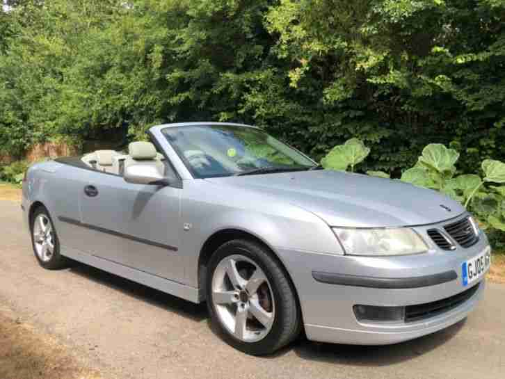 Saab 05. Saab car from United Kingdom