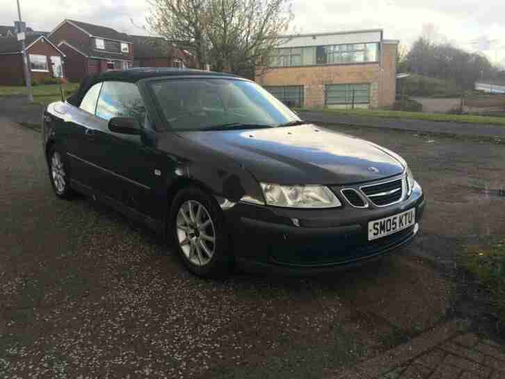 2005 05 Saab 9 3 2.0T Auto Convertible Cabriolet Full Leather Interior MOT 04 20