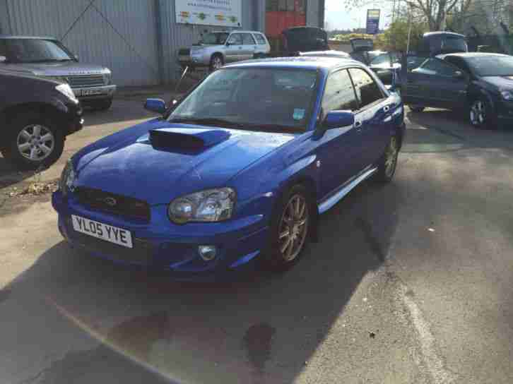 2005/05 Subaru Impreza V8 Jdm Sti Twin Scroll Turbo IN WR BLUE