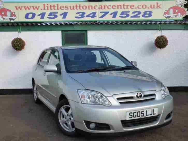 2005 05 TOYOTA COROLLA 1.6 T3 COLOUR COLLECTION VVT I 5D 109 BHP