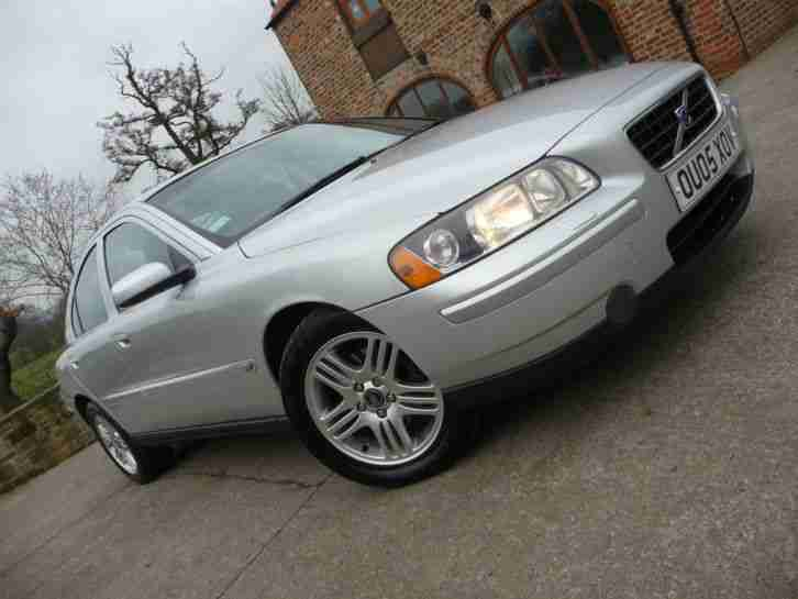 2005 05 VOLVO S60 2.4 D5 S TURBO DIESEL+LOW MILES+94000 ONLY!+CAM BELT DONE+L@@K
