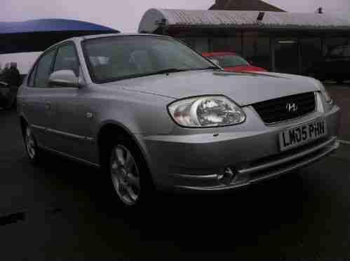 2005 05 reg ACCENT 1.6 CDX 5 DOOR