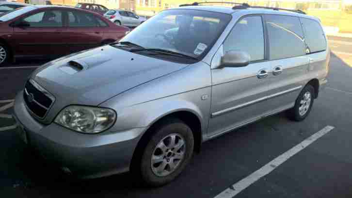 2005 54 REG KIA SEDONA LE SILVER MANUAL SPARES OR REPAIRS
