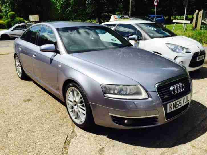 2005 55 audi a6 3 0 tdi quattro s line grey remapped full. Black Bedroom Furniture Sets. Home Design Ideas